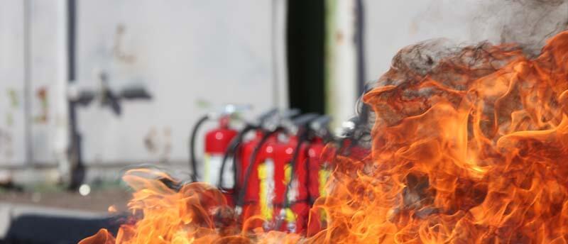 Сайт в сфере пожарной безопасности