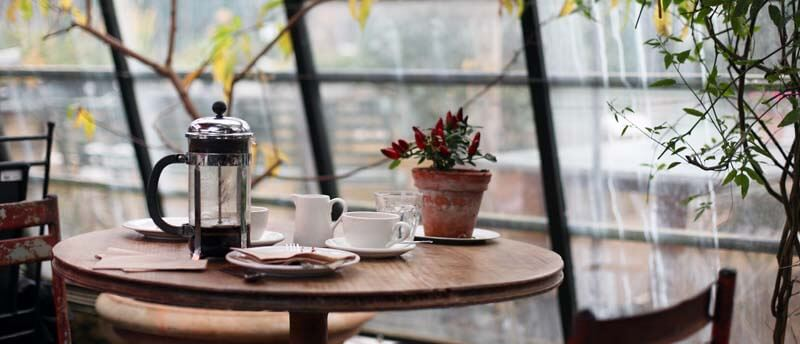 Cайт кафе