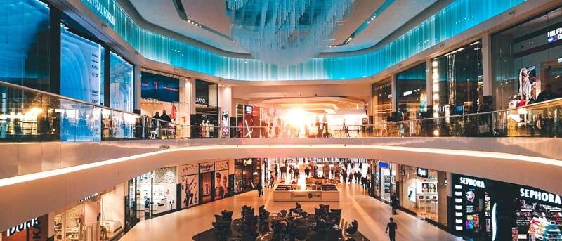 Cайт торгового центра