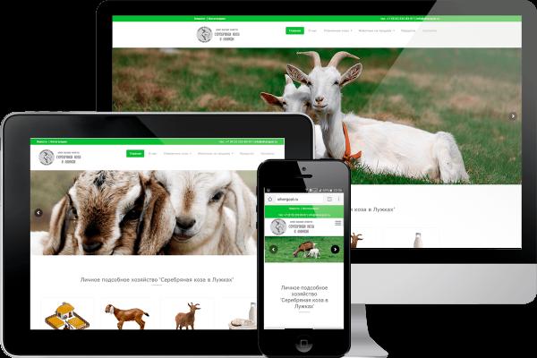создание сайта для хозяйства